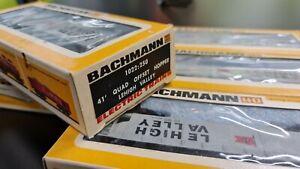 Bachmann HO scale 41' Quad Offset Hopper x6 LEHIGH VALLEY