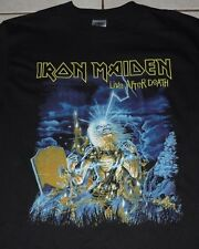IRON MAIDEN Original Vtg LIVE AFTER DEATH SBIT 2008 Tour Shirt M! NEW! Event