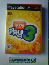 EYETOY PLAY 3 PS2 PLAYSTATION 2 SONY PAL COMPLET -