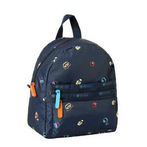 LeSportsac Sesame Collection Small Double Zip Backpack in Sesame Neighbors NWT