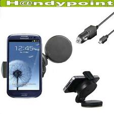 Auto Halterung Samsung Galaxy S3 i9300 Kfz Halter Handy 360 Grad Auto Ladekabel