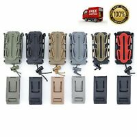 MultiColor Tactical Magazine Pouch Nylon Pistol Double Stack 9mm Carry Mag Pouch