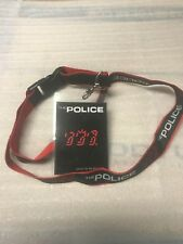 "Police Laminate ""Ghost In The Machine Tour"" 100% Authentic With Police Landyard"