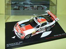 CHRYSLER VIPER GTS-R N°1 24 Heures de SPA 2002 ALTAYA 1:43