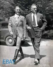 Tyrone Power director Henry King Lloyds of London candid on set VINTAGE Photo