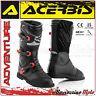 ACERBIS ADVENTURE BOOTS BLACK/RED OFF-ROAD MOTO CROSS QUAD ENDURO SIZE 41