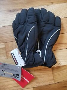 NWT Hanna Andersson KIDS BLACK GLOVES Insulated S SMALL  3 4 5 6 90 100 110