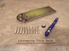 Emergency/Survival:  (10) PC Precision Screwdriver Kit, EDC Small!  Magnetic