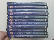 THE MODERN PROPHETS Living Scriptures 11 DVD Set LDS Mormon