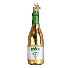 """White Wine"" (32303)X Old World Christmas Glass Ornament w/ OWC Box"