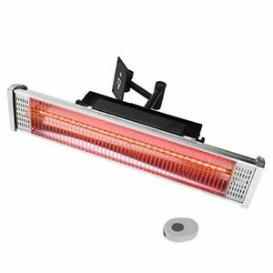 Star Patio Electric Patio Heater with Remote  Indoor / Outdoor Heater Space H...