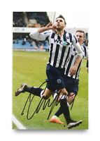 Lee Gregory Signed 6x4 Photo Millwall Stoke City Autograph Memorabilia + COA