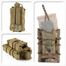 Tactical MOLLE Hunting Bag Open Top Double Single Rifle Pistol Mag Pouch