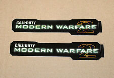 2x Call of Duty cod Modern Warfare 2 stickers/pegatinas 2009 Xbox 360 ps3