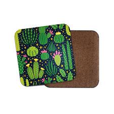 Funky Lamas Coaster-Cactus alpaca Pérou Cute Pretty Mexique Désert Cadeau #15263