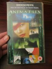 Animatrix   VHS Video Tape  (NEW)
