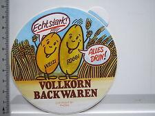 Aufkleber Sticker Vollkorn Backwaren - Weizi Roggi -  (6490)