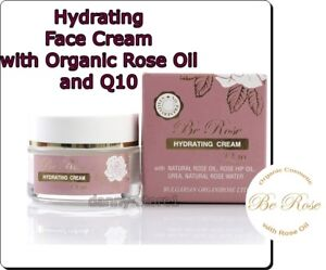 Hydrating Cream Be Rose  Moisturizing Face Skin with Bulgarian Rose Oil 50ml