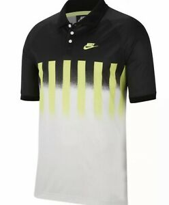 Nike Court Challenge Re Issue Agassi Polo CU4200-702 Ember Glow SZ M NEW