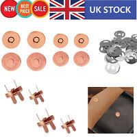 Magnético Chasquear Cierres Botón Arandelas Metal Para Bricolaje Leathercraft