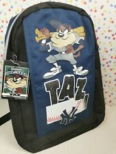 More details for looney tunes taz new york baseball 1999 backpack new with tags by pro works
