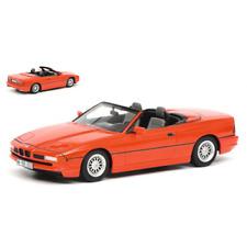 BMW 850i CABRIOLET 1990 RED 1:18 Schuco Auto Stradali Die Cast Modellino