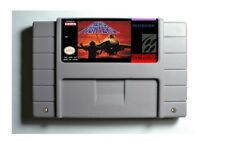 Aero Fighters SNES 16-Bit Game Cartridge NTSC Only English Language