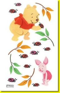 Jolee's Boutique Winnie the Pooh and Piglet 3d Stickers - DJBW004 FREE POST