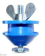 Morgan Blue Chain Keeper AR00059 butter fly screw attachment Blue Nylon roller