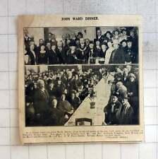 1925 John Ward Dinner  Gloucester Elderly , Johnston Vaughan, Lady Bruton