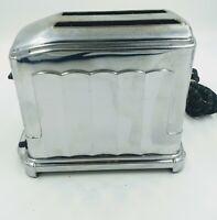 Vintage Toastmaster 1B5 Toaster Art Deco Style Toaster.