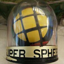 "Vintage 80's supersphere round Circular Rubiks ""cube"" Toy."