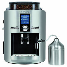 Krups EA 826E Aluminium/Schwarz 9 Tassen Kaffeevollautomat