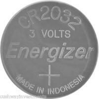 ENERGIZER ECR2032 3V 3 VOLTS LITHIUM BUTTON BATTERY CR2032