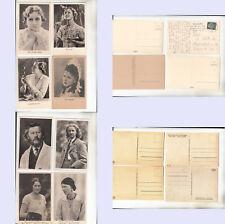 Schauspieler (u. a. Oberammergau) 8 Karten (10.074) Kein Einzelverkauf!