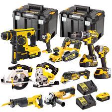 Dewalt 10 Piece 18V Li-ion Monster Kit with 4 x 5.0Ah Batteries, Charger & Case