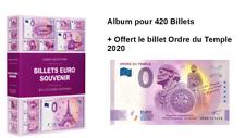 Album Leuchtturm 420 Billets Souvenir + Billet Ordre du Temple 2020 - UENA