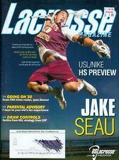 2014 lacrosse magazin: jake seau. usl/nike hs vorschau