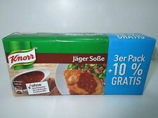 3 x 3 er pack Knorr - Delicacy Jägersoße Huntersauce fresh from Germany New