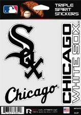 Chicago White Sox Die Cut Decals 3 Pack Car Window, Laptop, Tumbler MLB Rico