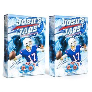 Josh Allen Cereal Josh's Jaqs LIMITED EDITION Buffalo Bills! New, Unopened!