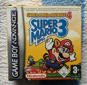 Super Mario Bros 3 for Nintendo Gameboy Advance GBA Boxed