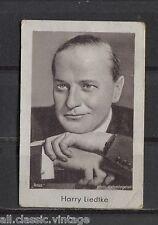 Harry Liedtke Vintage Movie Film Star Trading Photo Card