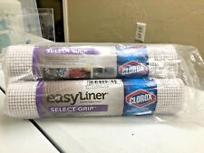 1 Duck Brand Easy Liner Shelf Liners Select Grip w/ Clorox Non-Adhesive 1 Roll