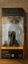 "Hasbro Star Wars The Black Series Cad Bane 6"" figure (2020)"