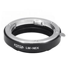 FOTGA Adapter Ring for Leica M Lens to Sony E Mount Nex-5 5r Nex-6 Nex-7 Nex-3