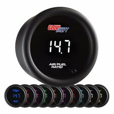 GlowShift 10 Color Digital Narrowband Air/Fuel Ratio Gauge - GS-TCD02