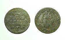 pcc1628_2) FERDINANDO IV DI BORBONE Reali Presidi di Toscana 1 Quattrino 1782