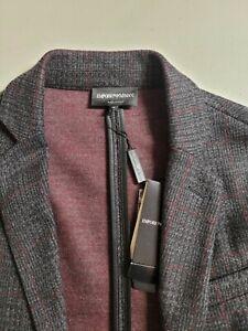 NWT  Emporio Armani Men's High End Wool Sports Blazer Medium/ Was $1290 Now$186