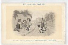 ILLUSTRATION LES JEUX D' ENFANTS , LE JEU DE CORDE